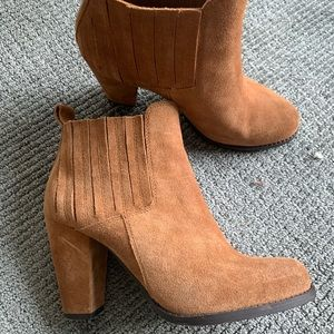 Splendid suede ankle boots size 8